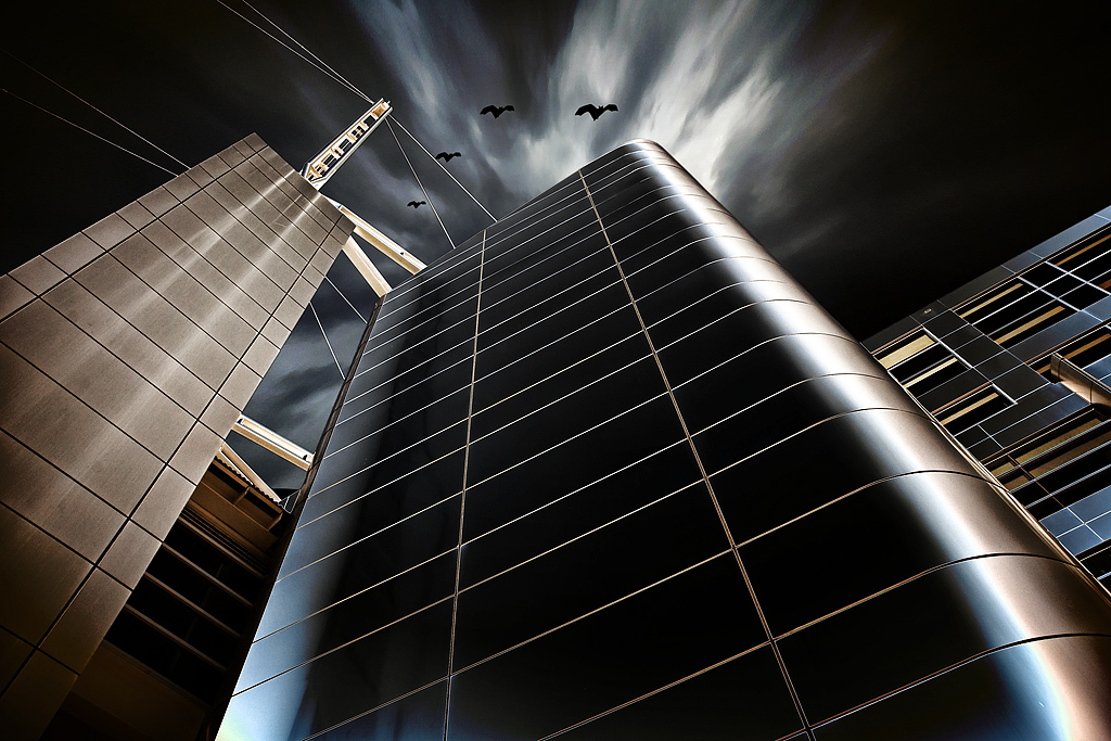 """2009 Creative Section """"Gotham City 2"""" by  Adrian Donoghue: Awarded SSNEP Silver Medal"""