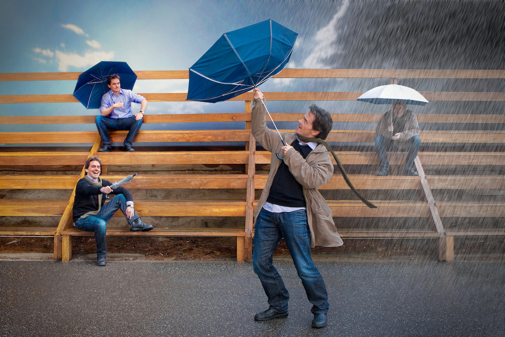 """2009 Creative Section """"Weather To  Take The Umbrella"""" by Justin Matthews: Awarded SSNEP Gold Medal"""