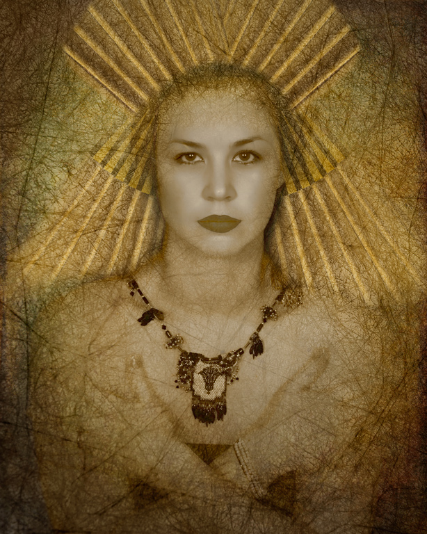 """2012 Creative Section """"Egyptian Princess"""" by  Denise McDermott: Awarded SSNEP Silver Medal"""