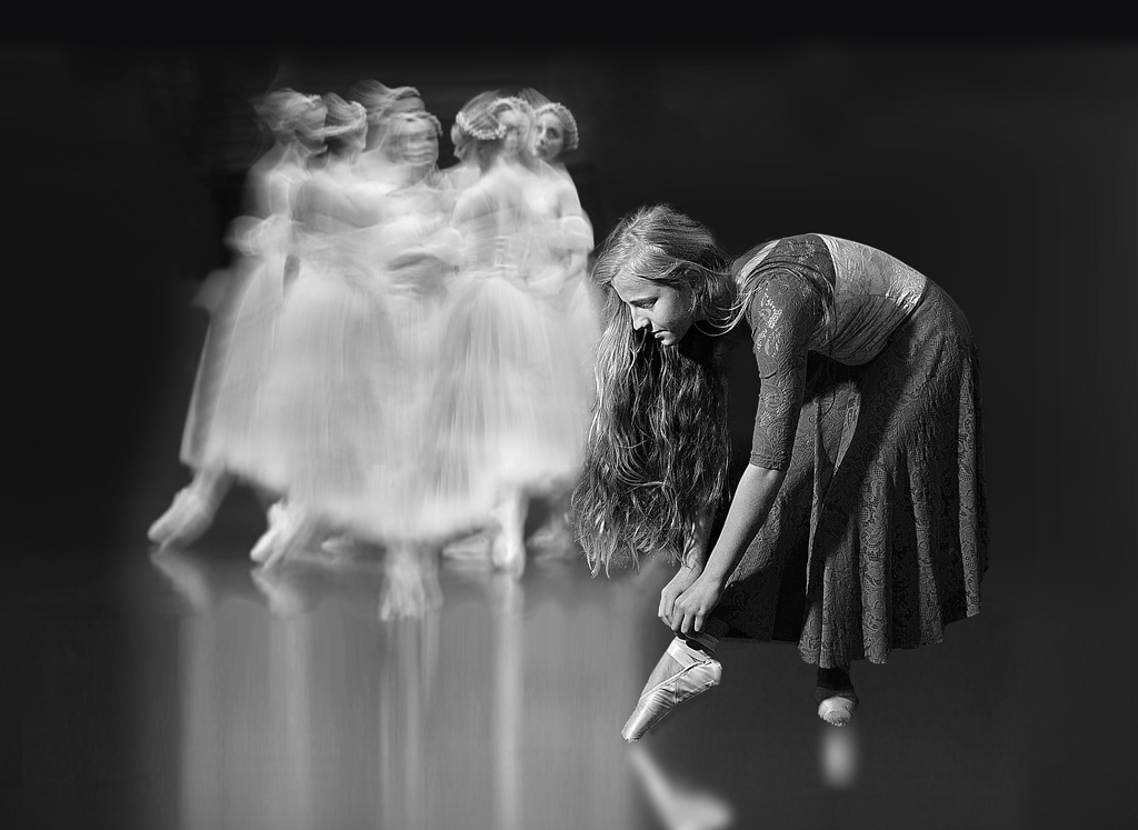 """2013 Open Monochrome Section """"Full Dress Rehearsal"""" by Arthur Roy: Awarded SSNEP Silver Medal"""