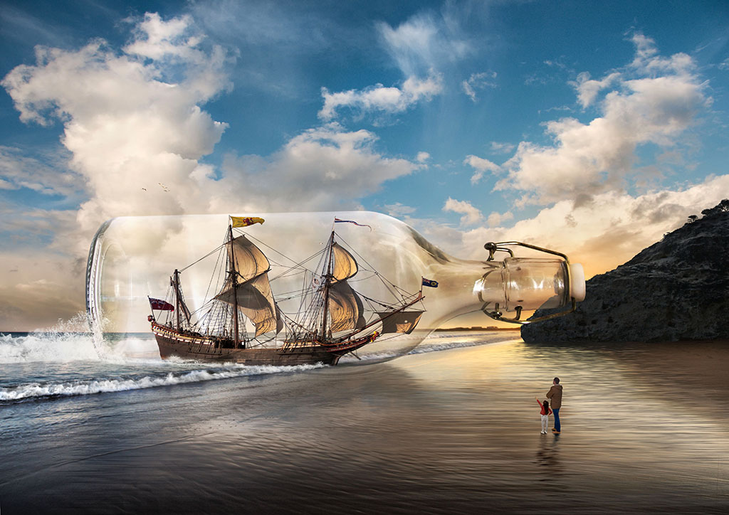 """2016 Creative Section """"Shipwreck"""" by Heather Prince: Awarded SSNEP Gold Medal"""